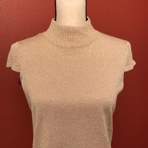 Classy Sparkling Gold Top